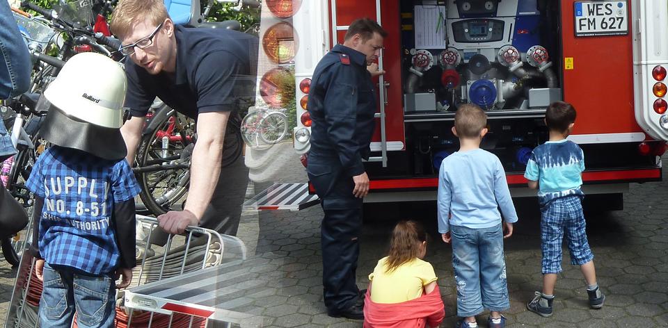 Brandschutzerziehung Feuerwehr Moers