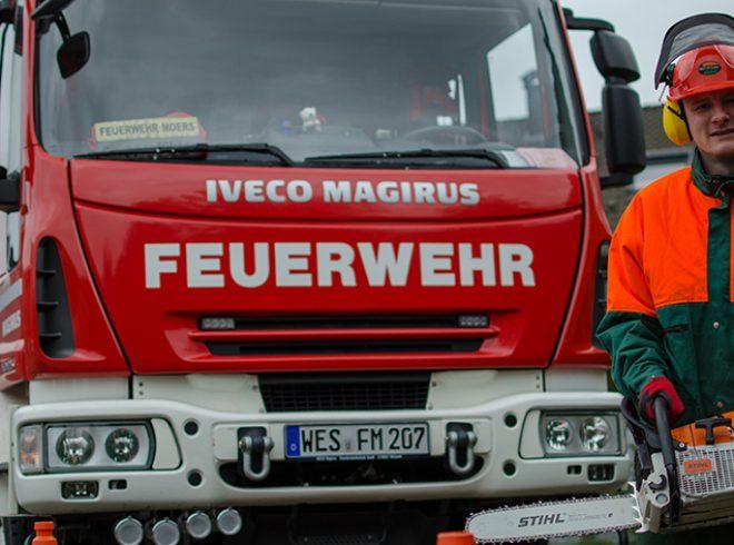 Schnittschutz Feuerwehr Moers