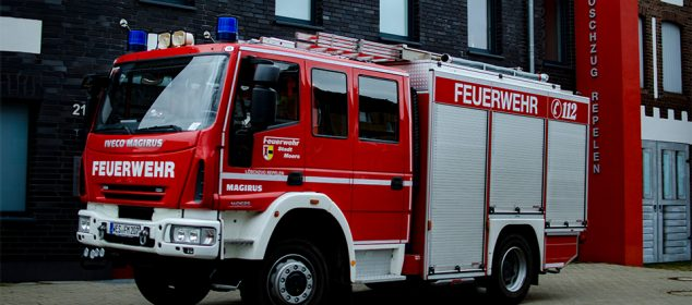 Feuerwehrfahrzeug HLF20 Feuerwehr Moers