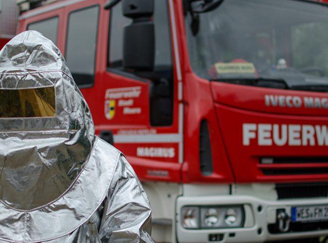 Hitzeschutzkleidung Feuerwehr Moers