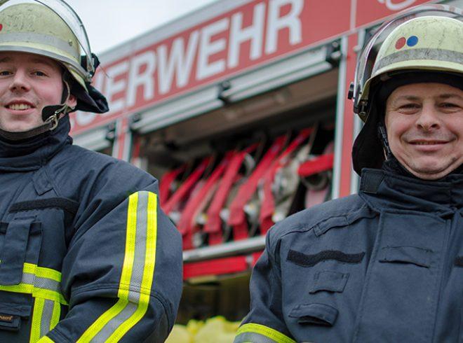Hupfkleidung Feuerwehr Moers
