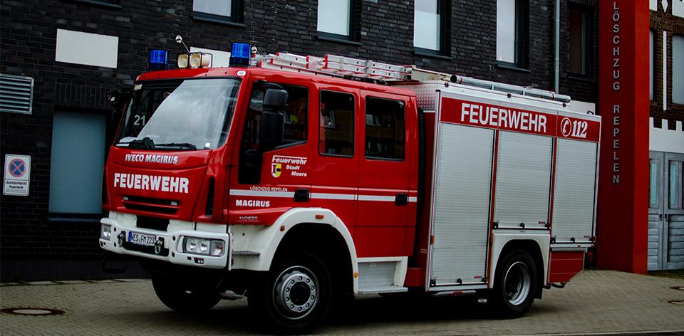 Feuerwehrfahrzeug LF20 Feuerwehr Moers