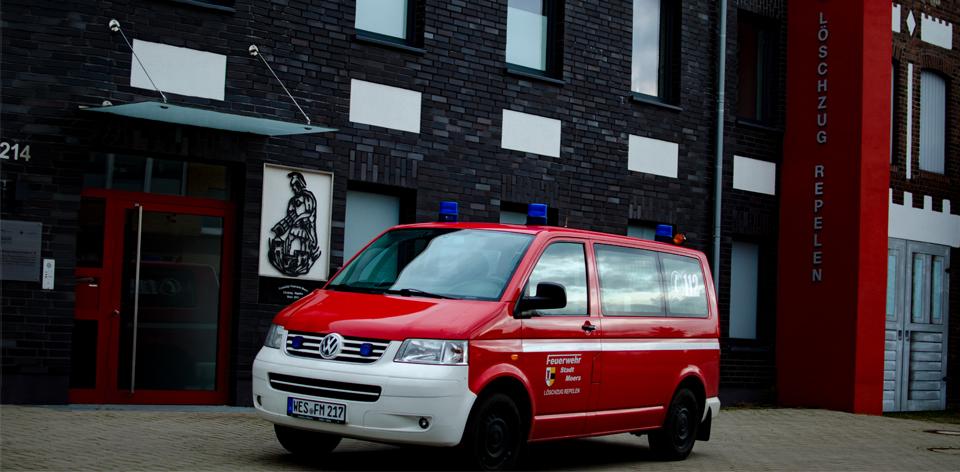 Feuerwehrfahrzeug MTF Feuerwehr Moers